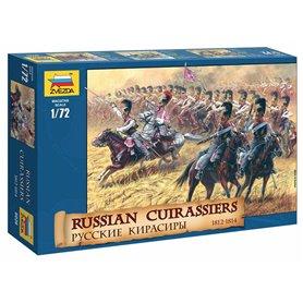 Zvezda 8026 Figurer Russian Cuirassiers 1812-1814