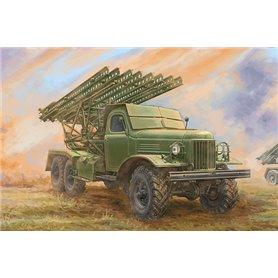 Trumpeter 01075 Soviet 2B7 Multiple Rocket Launcher BM-13 NM