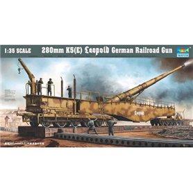 Trumpeter 00207 280 mm K5 (E) Leopold German Railroad Gun