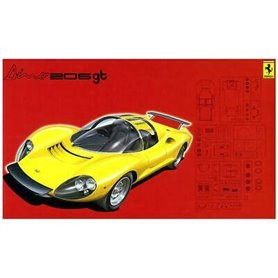 Fujimi 123639 Ferrari RS 76 Dino 206 GT