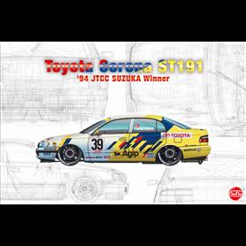 Nunu 24020 TOYOTA CORONA ST191 '94 JTCC SUZUKA WINNER