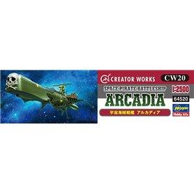 "Hasegawa 64520 Space Pirate Battleship ""Arcadia"""