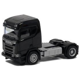 Herpa Exclusive 580438 Scania CR 20 ND, 2-axlig, svart