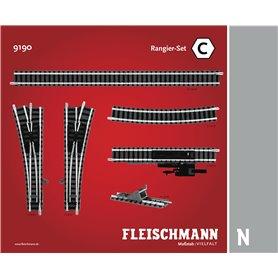 "Fleischmann 9190 Utbyggnadsset ""Shunter Set"""