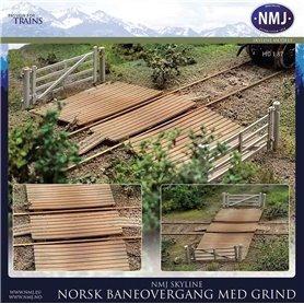 NMJ 15131 Norsk Jernbaneovergang, Liten Utgave, Ferdigmodeller