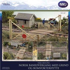 NMJ 15132 Norsk Jernbaneovergang, Stor Utgave, Ferdigmodeller