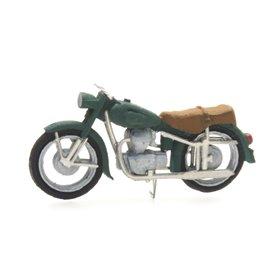 Artitec 38766GN Motorcykel BMW R 25 Civil Version, grön