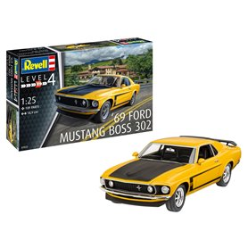 Revell 07025 1969 Boss 302 Mustang