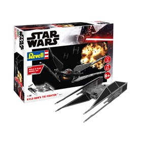 Revell 06771 Star Wars Kylo Ren's TIE Fighter, build and play