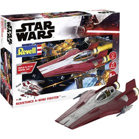 Revell 06770 Star Wars Build & Play Resistance A-wing Fighter