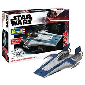 Revell 06773 Star Wars Build & Play Resistance A-wing Fighter