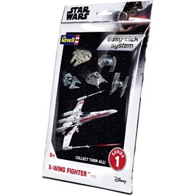 """Revell 01101 Star Wars X-Wing Fighter """"Easy Click"""""""