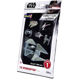 """Revell 01103 Star Wars TIE Interceptor """"Easy Click"""""""