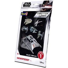"Revell 01104 Star Wars Snowspeeder ""Easy Click"""