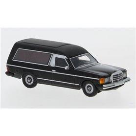 BOS 87685 Mercedes W123 Bestattungswagen, svart, 1977