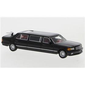 BOS 87690 Mercedes V126 Trasco, svart, 1990