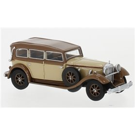 BOS 87726 Mercedes 770 (W07) Closed Convertible, beige/mörkbrun, RHD, 1930