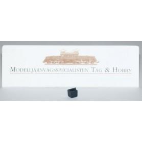 Märklin 427750 Lampbox för Märklin stoppbock 24978, 1 st, svart