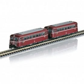 Märklin 88168 Rail Bus with Trailer Car