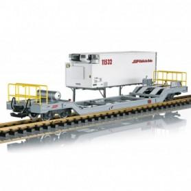 LGB 45926 RhB Container Transport Car