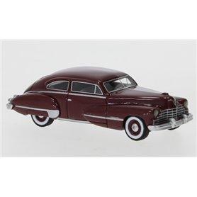 BOS 87771 Cadillac Series 62 Club Coupe, metallic-mörkröd, 1946