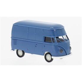 "Brekina 32607BL VW T1b Högtak ""Economy"", blå"