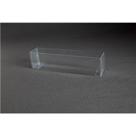 Tåg & Hobby 205 Plastbox, genomskinlig, L205xB32xH46 mm, 1 st