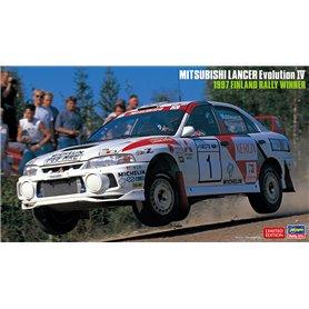 Hasegawa 20480 MITSUBISHI LANCER Evolution IV 1997 FINLAND RALLY WINNER