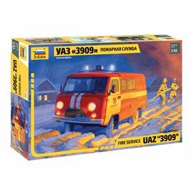 "Zvezda 43001 Fire service UAZ ""3909"""