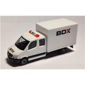 "AHM AH-045 Mercedes-Benz Sprinter box ""BDX"""
