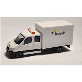 "AHM AH-046 Mercedes-Benz Sprinter box ""Bravida"""