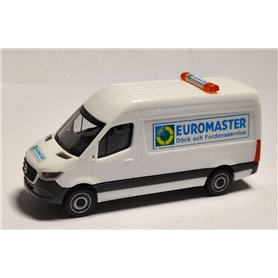 "AHM AH-044 Mercedes-Benz Sprinter `18 box type ""Euromaster"""