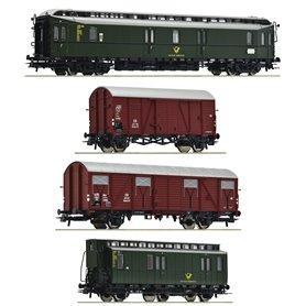 "Roco 76036 Vagnsset ""Post Train"" DB"