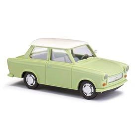 Busch 53106 Trabant P601 Limousine, grön med vitt tak