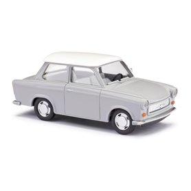 """Busch 53109 Trabant P601 Limousine, silvergrå """"De Luxe"""""""