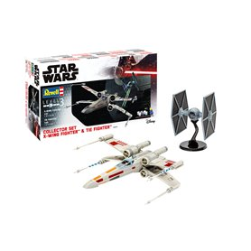"""Revell 06054 Star Wars Collector Set X-Wing Fighter + TIE Fighter """"Gift Set"""""""