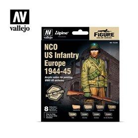 Vallejo 70244 Färgset NCO US Infantry Europe 1944-45