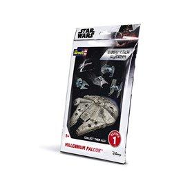 "Revell 01100 Star Wars Millenium Falcon ""Easy Click"""