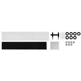 Herpa 084420 Curtain canvas trailer, white Content: 2 pcs