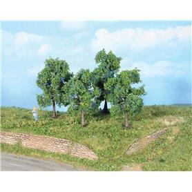 Heki 19114 Plommonträd, 4 st, 9+ 6 cm höga