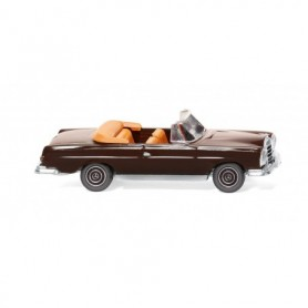 Wiking 15302 MB 280 SE Cabrio - chocolate brown
