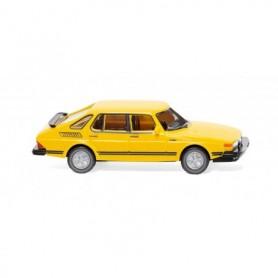 Wiking 21501 Saab 900 Turbo - traffic yellow