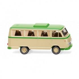 Wiking 27044 Borgward camper van B611 - ivory beige yellow-green