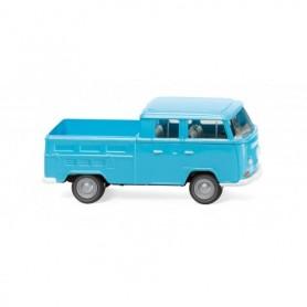 Wiking 31404 VW T2 double cabin - ice blue