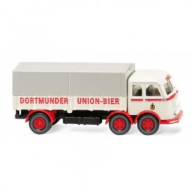 Wiking 42903 Flatbed truck (MB LP 333) 'Dortmunder Union'