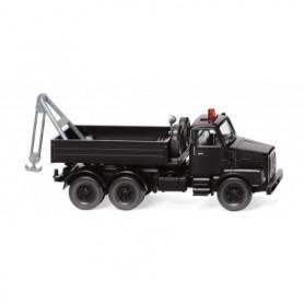 Wiking 63409 Towing vehicle (Volvo N10) - black