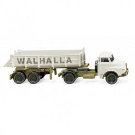 Wiking 67707 Rear tipper semi-truck (MAN) 'Walhalla Kalk'