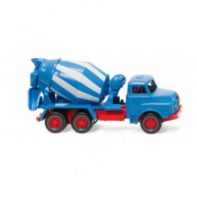 Wiking 68208 Concrete mixer (MAN) - blue|white