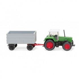 Wiking 96003 Fendt Favorit with trailer