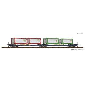 Roco 77388 Dubbelvagn 738/T3000e SdggmrsItalian logistics company CEMAT (Combined European Management and Transportation S.p...